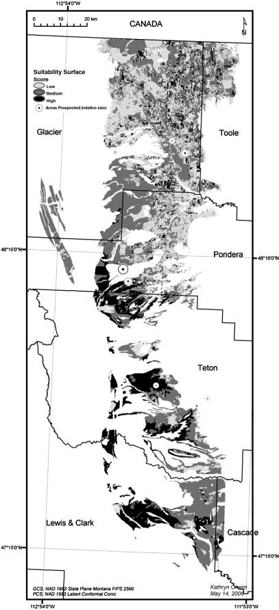 Fossil Site Prediction